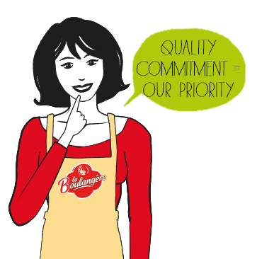 Quality commitment = our priority